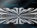 Art Deco Designs for Glass A4G-DECO-11010
