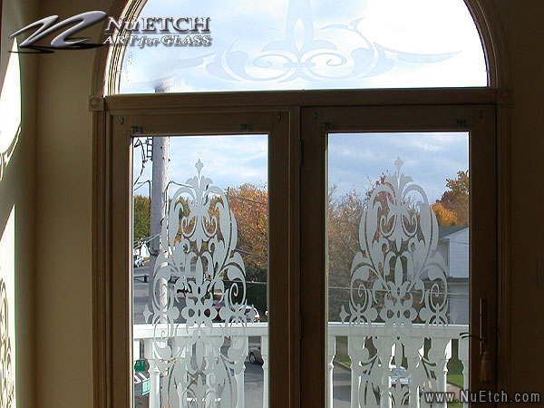 Privacy And Decorative Solutions For Transom Windows Over