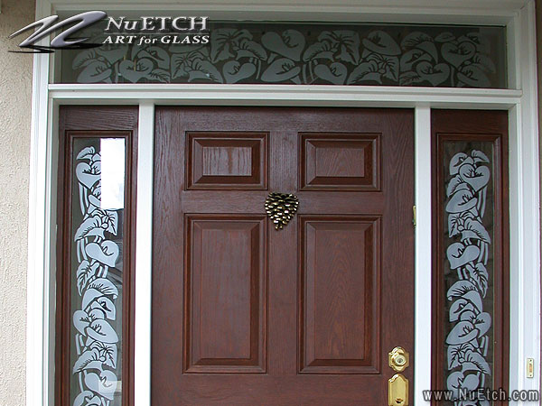 Decorating and Privacy for Glass Doors and Sidelights