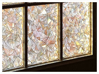 Decorative Window Film For Privacy And Decoration On