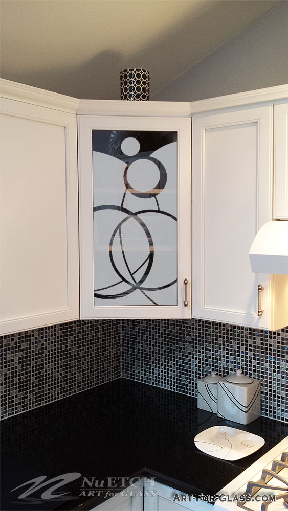 Glass In Kitchen Cabinet Doors Can Be A Place For Art