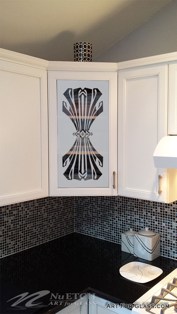 Etched Glass Kitchen Cabinet Doors NuEtch Art For Glass