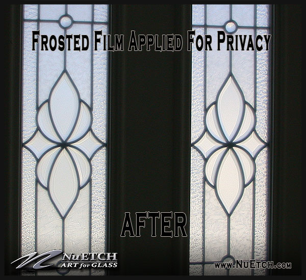 Privacy for Leaded Glass and Windows