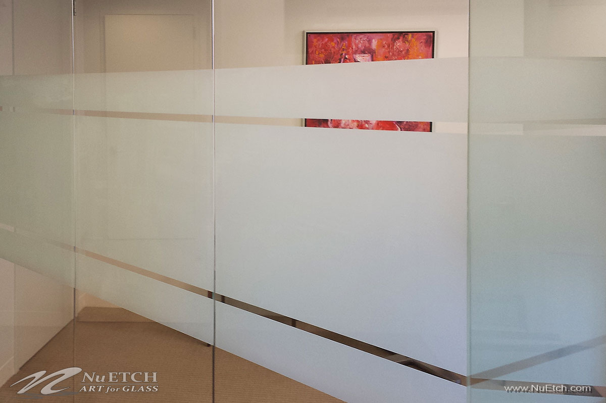 NuEtch Distraction Marker - Privacy for Office Glass