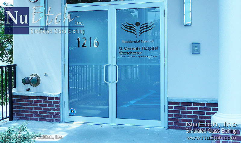 Glass Door Logo : Logos for glass doors panels signs and storefronts