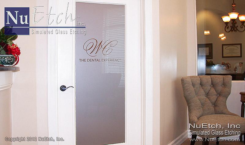 NuEtch - Logo Glass Door