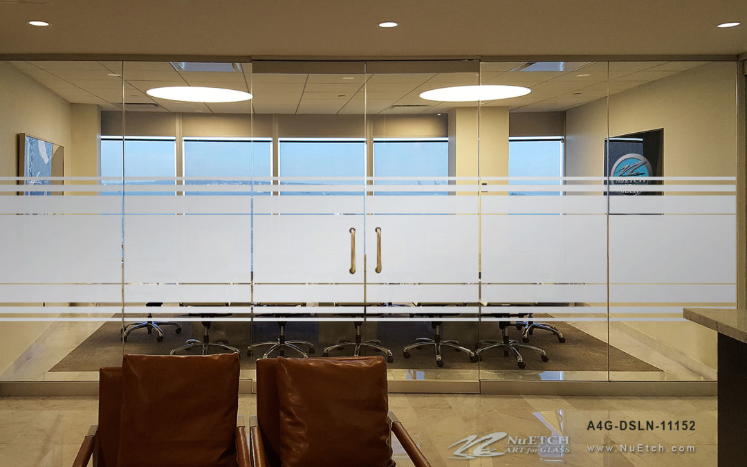 NuEtch Privacy on Glass