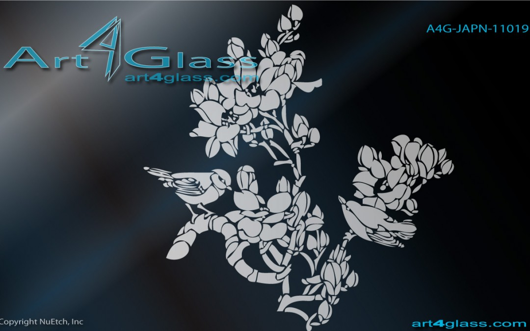 Asian Art Designs for Glass Catalog